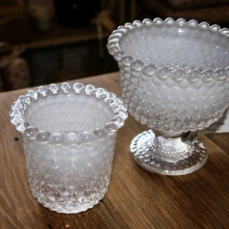 Image of Cooper and Cooper glass vases