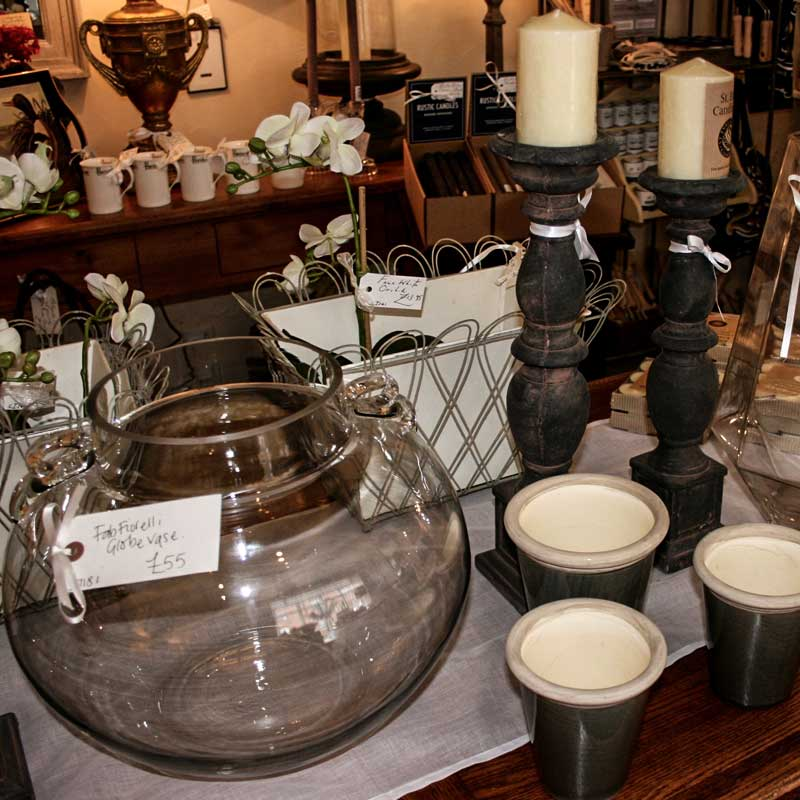 Image of Cooper and Cooper black candle holders