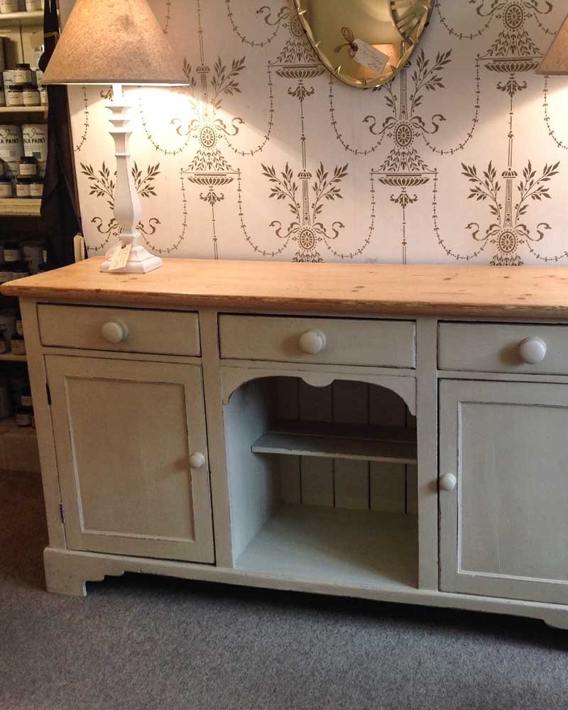 Image of Cooper and Cooper green sideboard