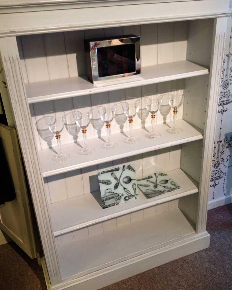 Image of Cooper and Cooper white bookcase