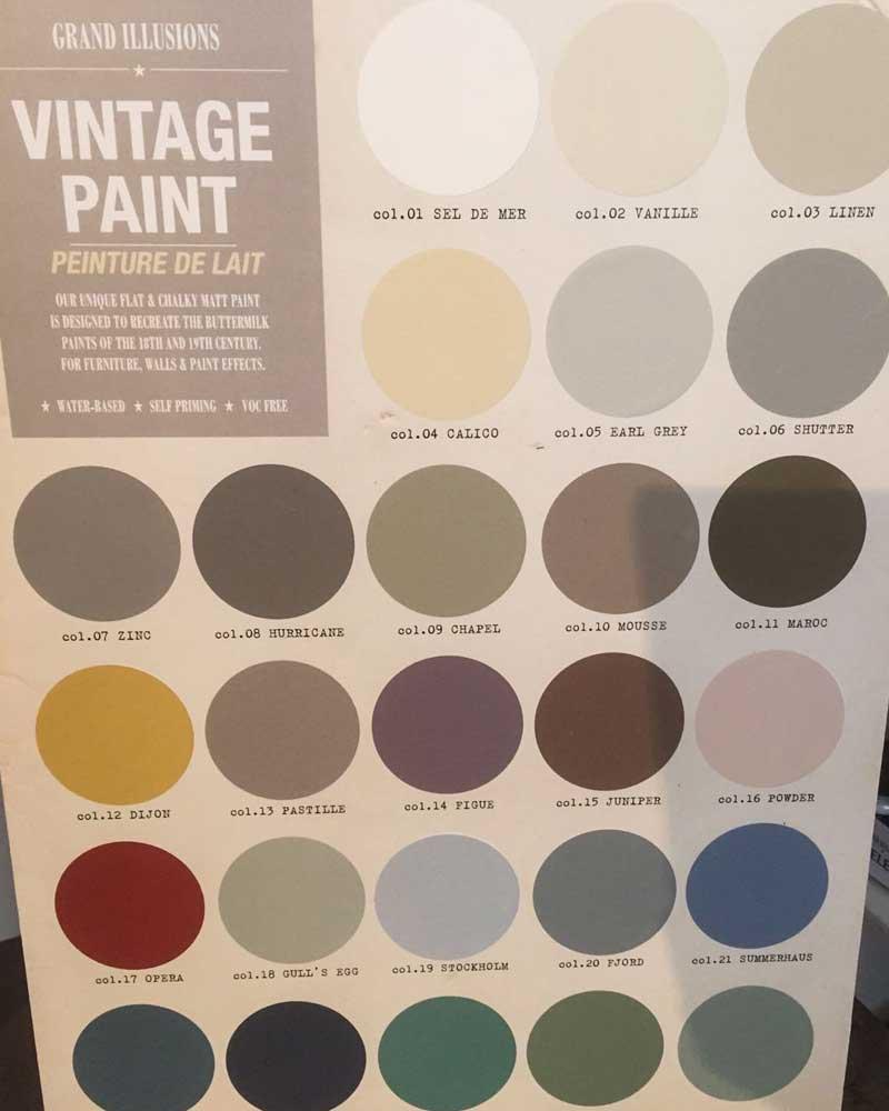 Grand Illusions colour palette